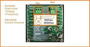 Generator auto start alternator monitoring