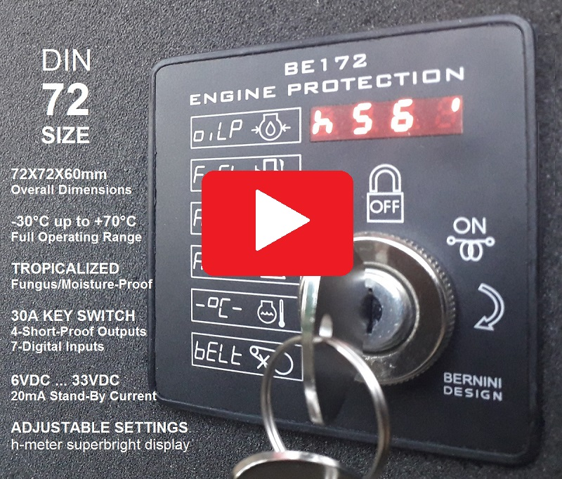 Be172 Diesel Engine Protection Module link to YOUTUBE