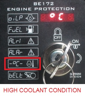 HIGH COOLANT TEMPERATURE