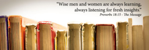 the wise always look for knowledge