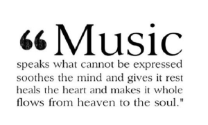 playlist of music that soothes the soul