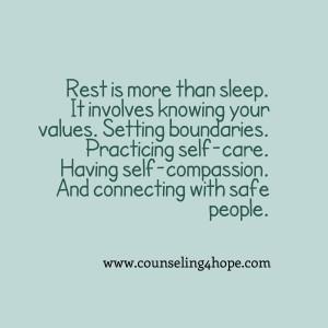 Defining Rest