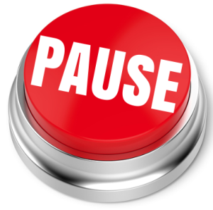 How to change your thoughts: pause