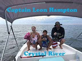 Crystal River scalloing with Capt Michelle Zielecki