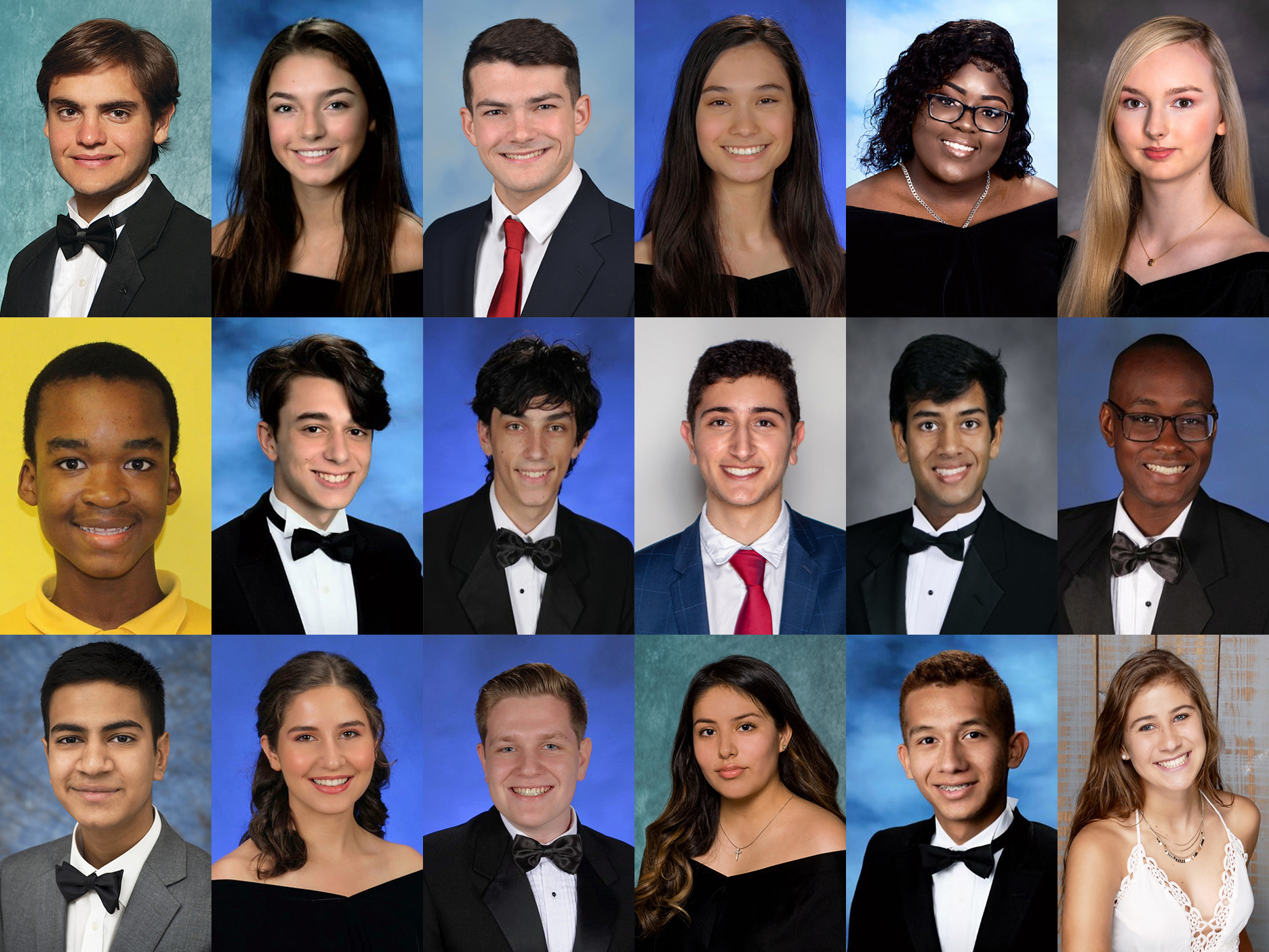 The winners of the 2020 Pathfinder High School Scholarship Awards.