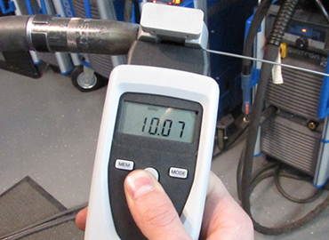 Picture of a calibration tool