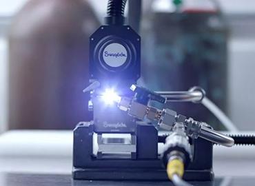 A picture of a Swagelok orbital welder