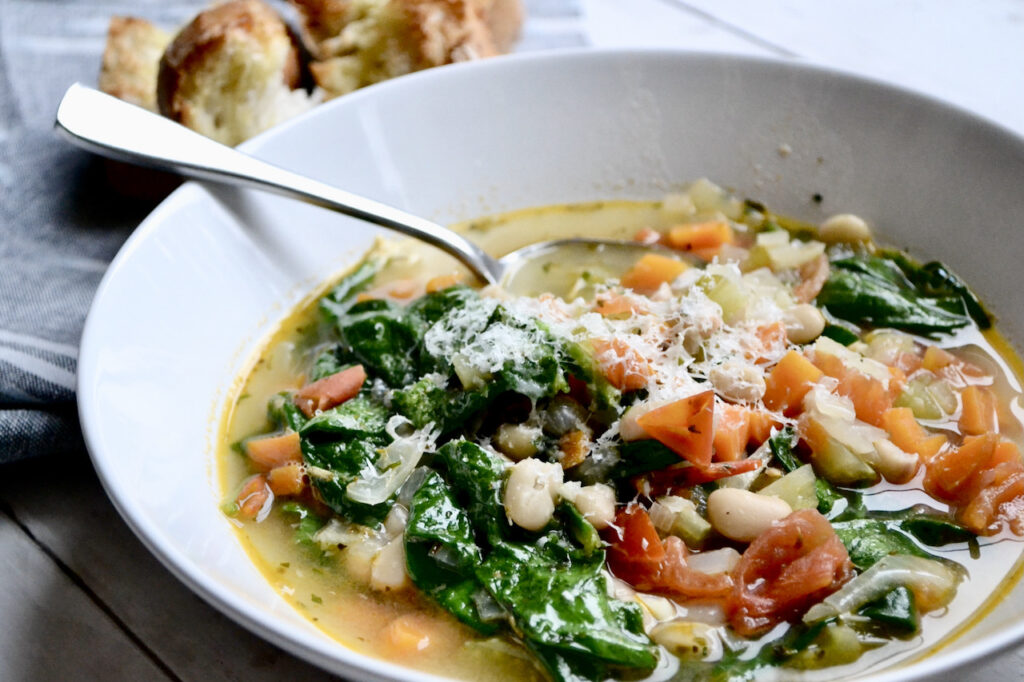 tuscan soup with beans
