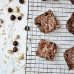 Pistachio and cranberry snack bars