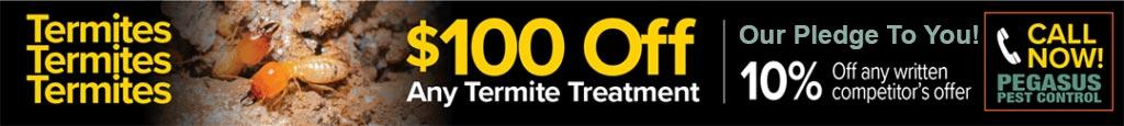 Termite Control Services by Pegasus Pest Control