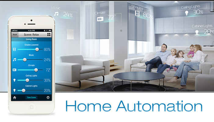 Crestron smart home automation