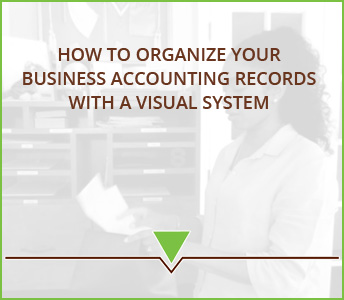 How to Organize your Business Accounting Records with a Visual System