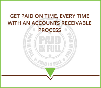 Get paid on time, every time with an accounts receivable process