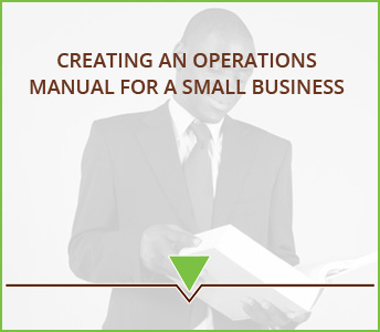 Creating an operations manual for a small business