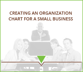 Creating an organization chart for a small business