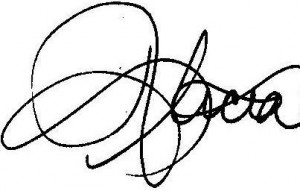 Alicia Butler Pierre Signature