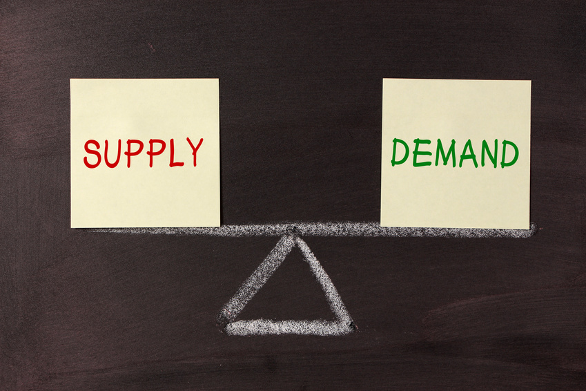 Fast Growth and The Law of Supply and Demand in Small Businesses