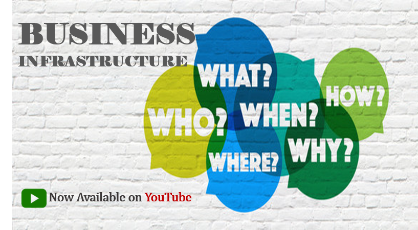 Business Infrastructure Visual Aids: Introducing New YouTube Channel