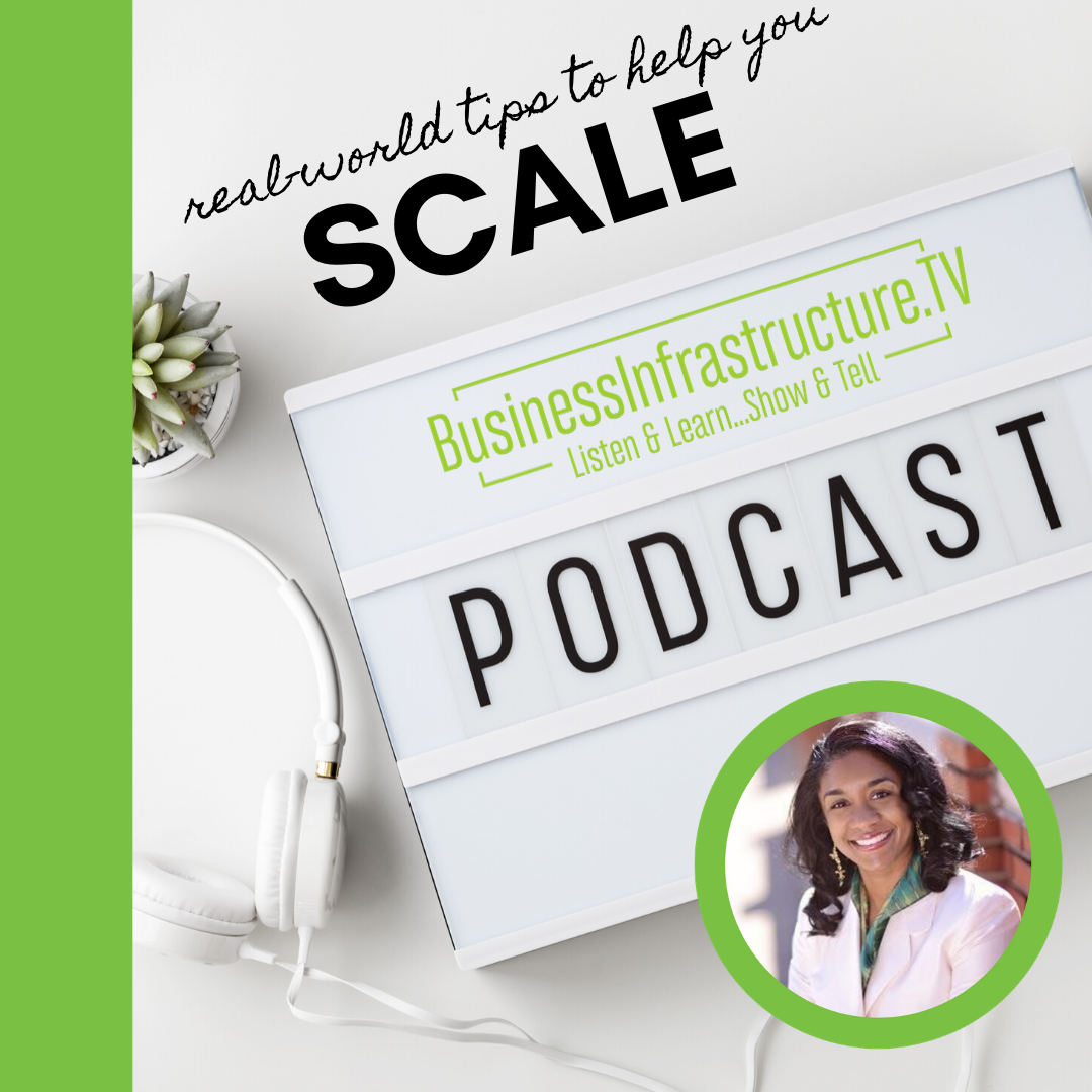 alicia butler pierre podcast - business infrastructure