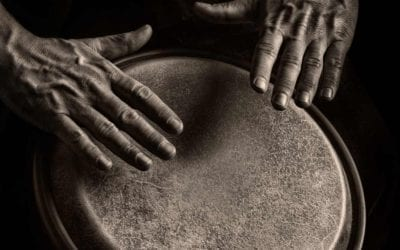 Yoga with Live Drumming