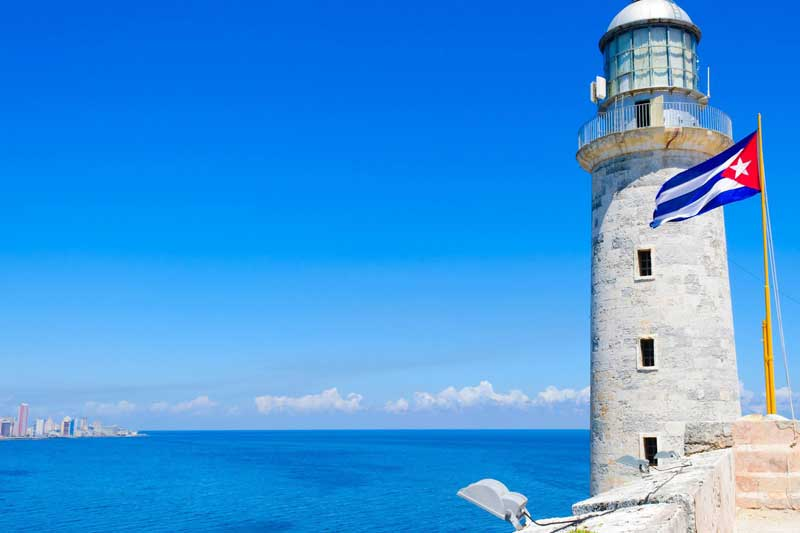 Cuban lighthouse