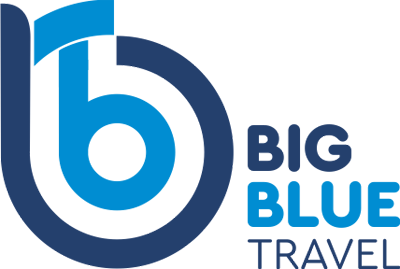 Big Blue Travel Logo