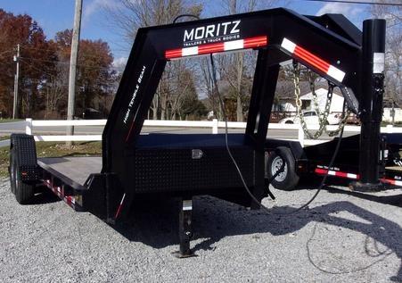 Moritz ELH HT Series Equipment trailer