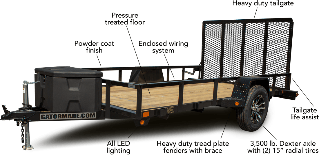 12 foot utility isolated specs