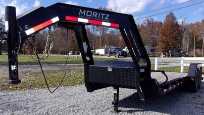 Moritz ELH HT Series Equipment Trailers/Hydraulic Tail