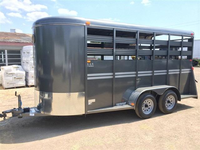CR Series Steel Livestock Trailer