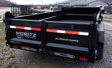Moritz DLH Series Hydraulic Dump Trailers