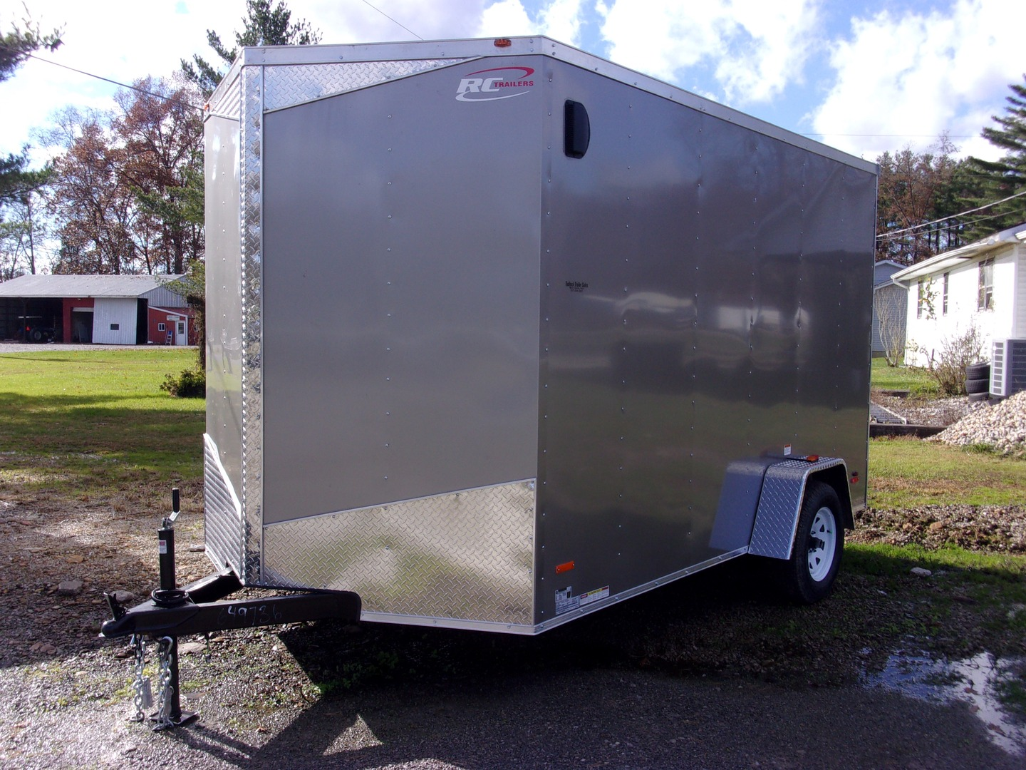 RC Trailer enclosed with customization