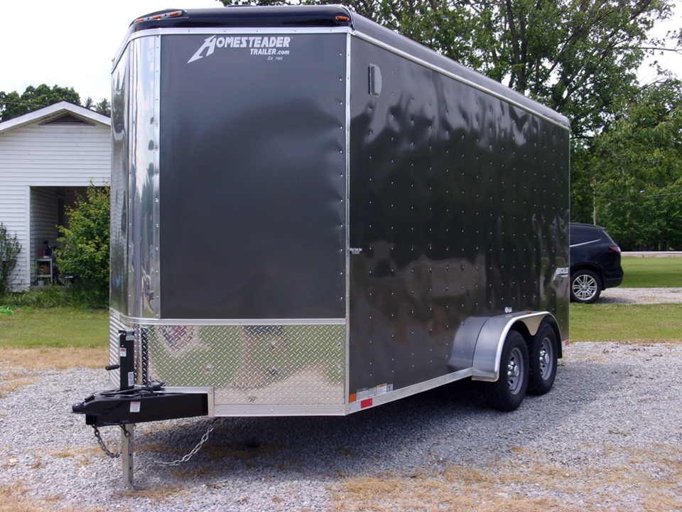 Hercules enclosed cargo trailer