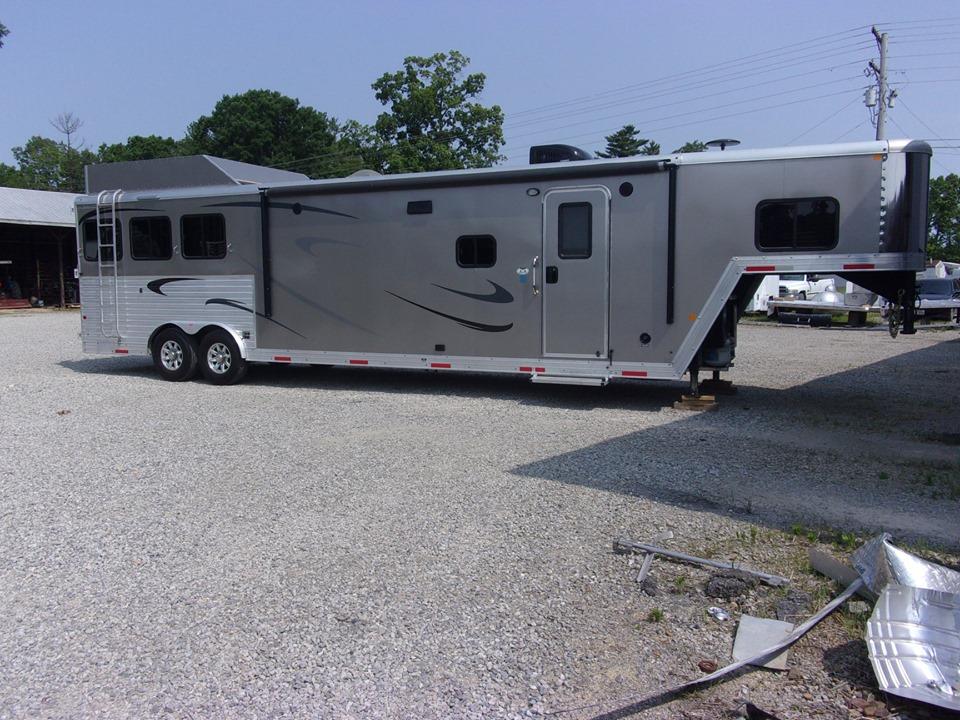 Merhow trailers side view