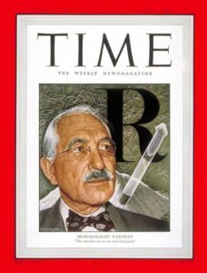 The history of TB drugs includes Waksman being on the cover of Time magazine