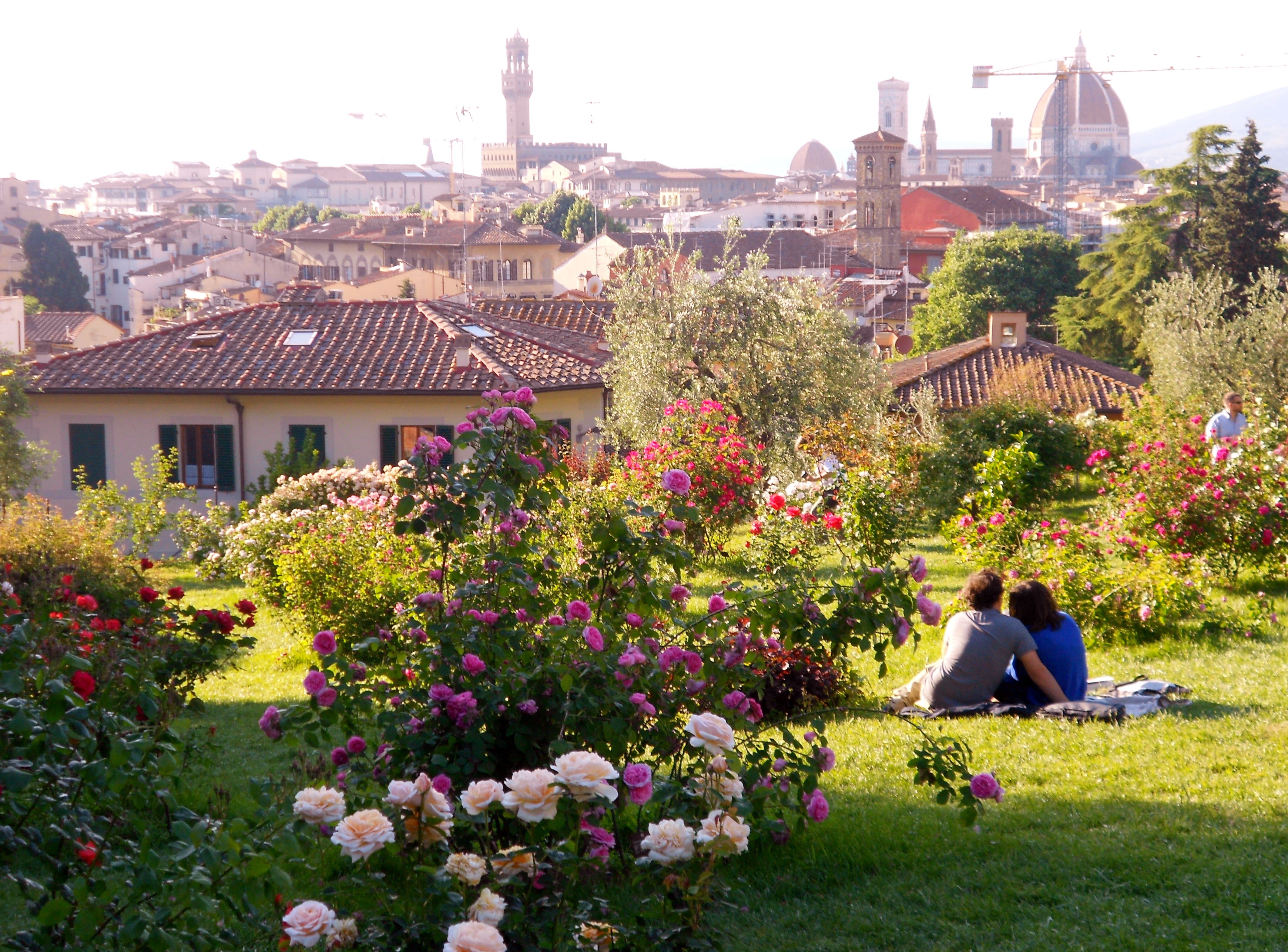 florence italy spring