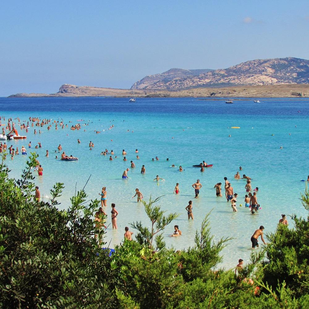 best beach in sardinia