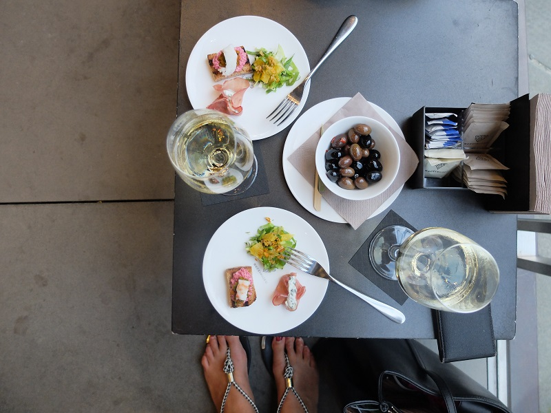 Aperitivo at Gucci Cafe in Florence   Girl in Florence  @girlinflorence