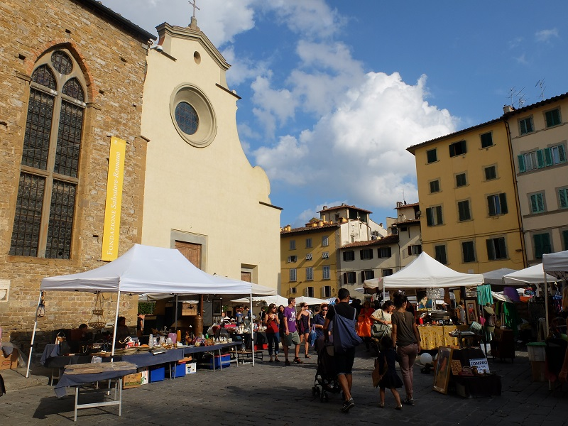 Santo Spirito, Florence   Girl in Florence Blog  @girlinflorence