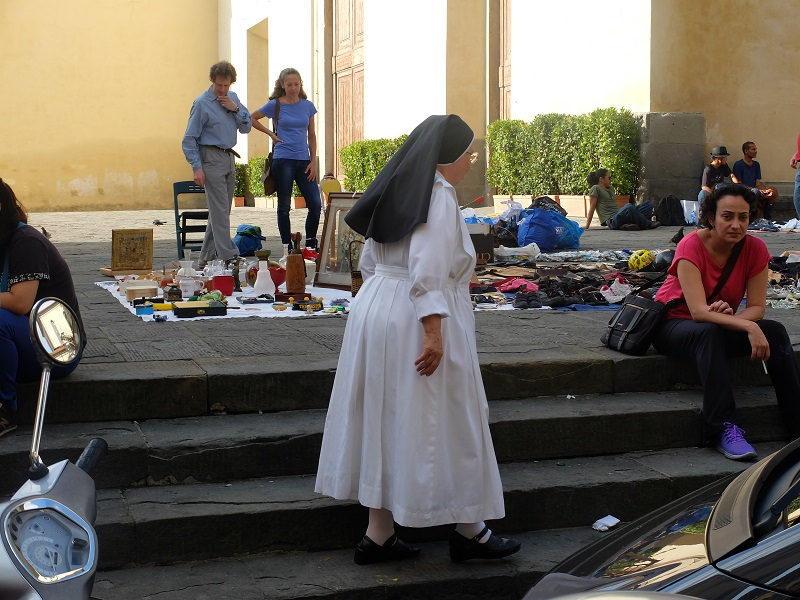 Nun in Florence   Girl in Florence Blog  @girlinflorence