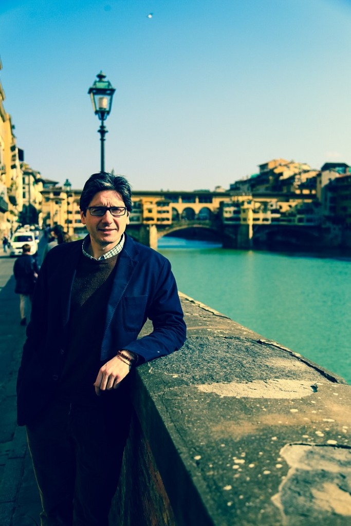 Federico & The Ponte Vecchio, doesn't get much more Florentine than that