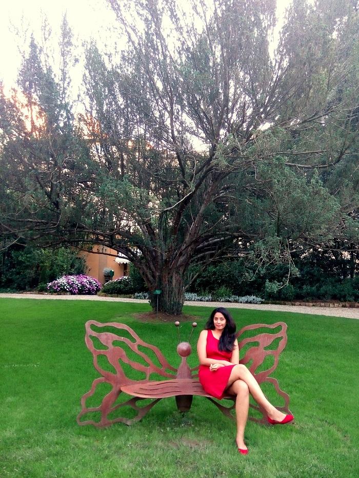In the garden of FS Firenze