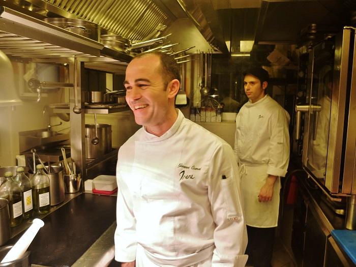 Head Chef Giovanni Cosmai