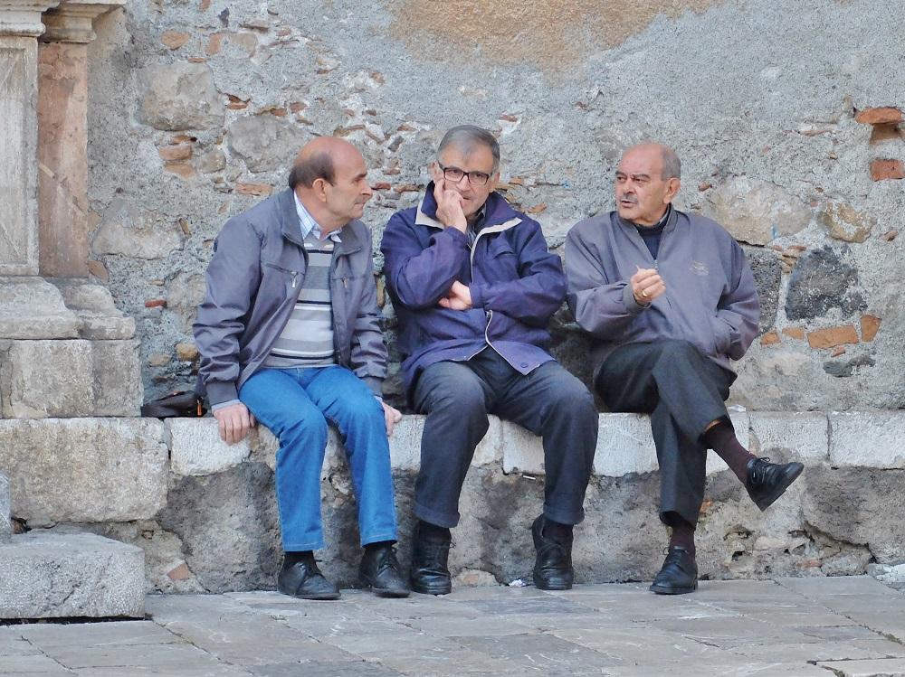 old men in Italy