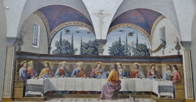 The Last Supper of San Marco by Domenico Ghirlandaio