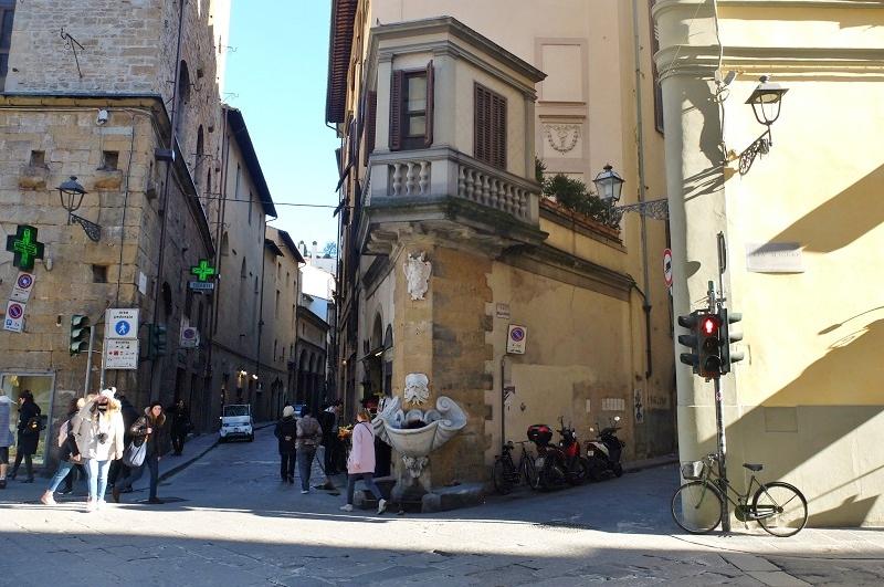 Where we begin, at Buontalenti's fountain