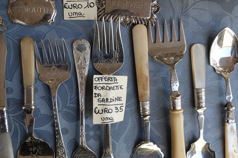 Arezzo Antique Fair - Tuscany- Photo credit: Georgette Jupe