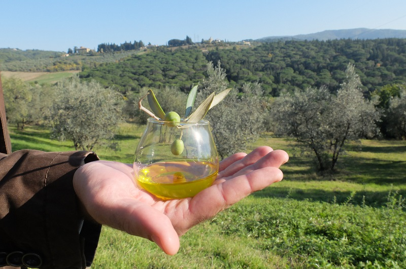 Into the wild, the olive oil that is