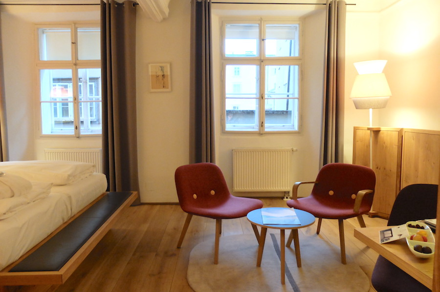 Our room was simple, stylish and had excellent WiFI, what more does a girl need?