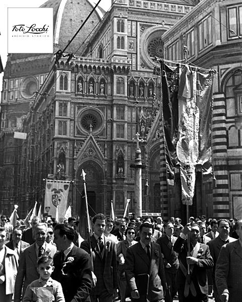 May Day in florence Italy historical